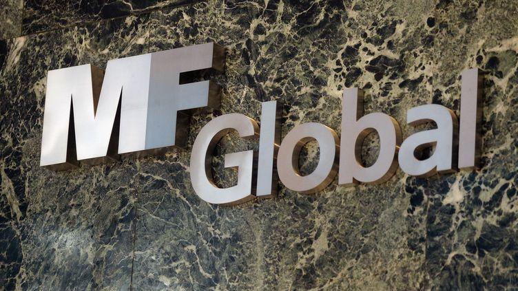 Les bureaux du courtier américain MF Global à New York (Etats-Unis) le 1er novembre 2011, au lendemain de l'annonce de son dépot de bilan. (MARIO TAMA / GETTY IMAGES / AFP)