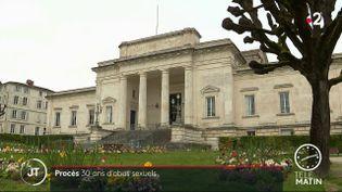 La cour d'assises de Saintes (Charente-Maritime). (France 3)