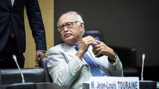 Jean-Louis Touraine, le rapporteur du projet de loi bioéthique lors de l'audition de plusieurs ministrespar la commission speciale chargée d'examiner ce projet de loi, le 9 septembre 2019. (ALEXIS SCIARD / MAXPPP)