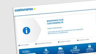 (Le site de Castorama (capture d'écran))
