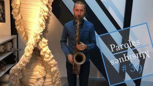 Le saxophoniste Christophe Panzani. (FRANCE TELEVISIONS)