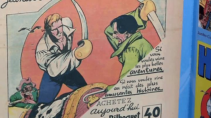 """""""Lesboucaniers"""" publiés dans Bilboquet  (France 3 / Culturebox)"""