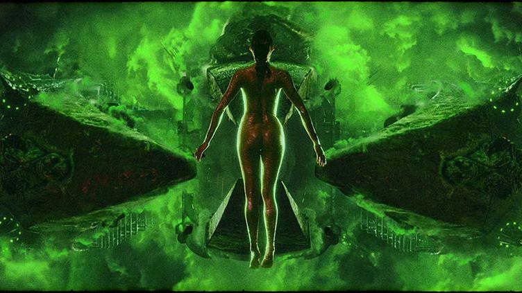 """""""Blood Machine"""" deSeth Ickerman. (Copyright Logical Pictures - Shudder - Seth Ickerman - Rumble Fish)"""