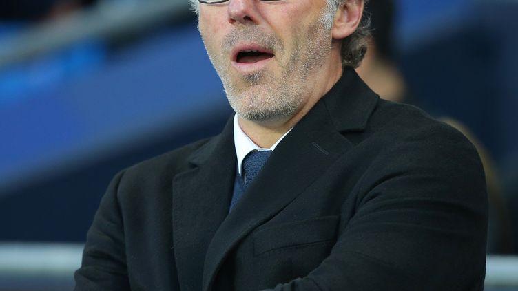 Laurent Blanc, entraîneur du Paris Saint-Germain.  (DAVE THOMPSON / ANADOLU AGENCY)