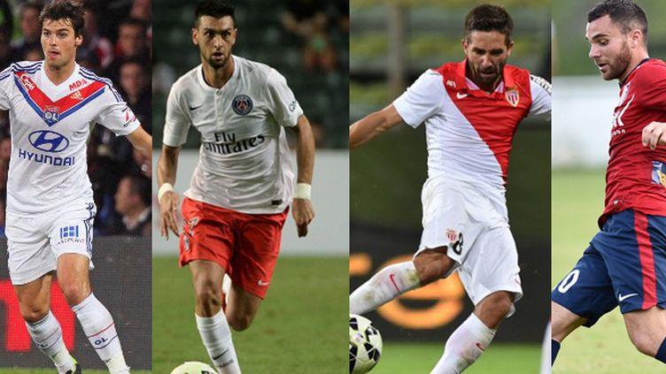 Yoann Gourcuff, Javier Pastore, Joao Moutinho, Marvin Martin, quatre joueurs très attendus pour la saison 2014-2015 de Ligue 1