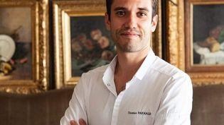 Thomas Parnaud, chef du restaurant Le Grand Monarque à Chartres (Eure-et-Loir). (Laurent Séminel)