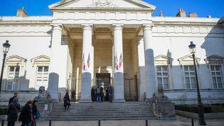 L'entrée du palais de justice d'Orléans (Loiret). (GUILLAUME SOUVANT / AFP)