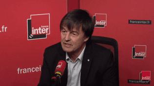 Nicolas Hulot, le 1er décembre 2017. (FRANCEINFO / RADIOFRANCE)