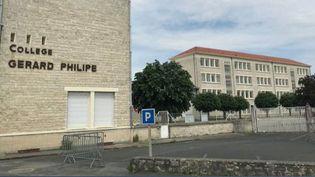 En Nouvelle-Aquitaine, après la Dordogne, un deuxième foyer épidémique a été découvert dans un collège de la commune de Chauvigny, lors d'une réunion pour préparer le retour à l'école. (France 2)