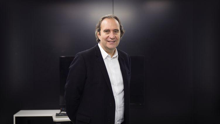 Xavier Niel,patron du groupe Iliad, à Paris, le 24 novembre 2014. (MARTIN BUREAU / AFP)