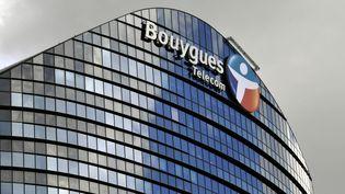 Le siège de Bouygues Telecom, à Paris, en mars 2013. (BOB DEWEL / ONLY FRANCE / AFP)