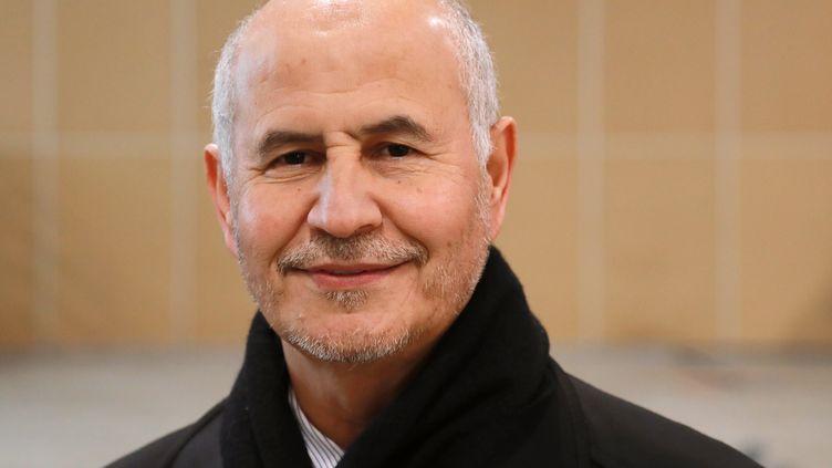 Leprésident de Musulmans de France (ex-UOIF) Asmar Lafar au Bourget (Seine-Saint-Denis), le 30 mars 2018. (JACQUES DEMARTHON / AFP)