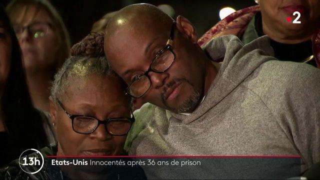 États-Unis : trois hommes innocentés après 36 ans de prison