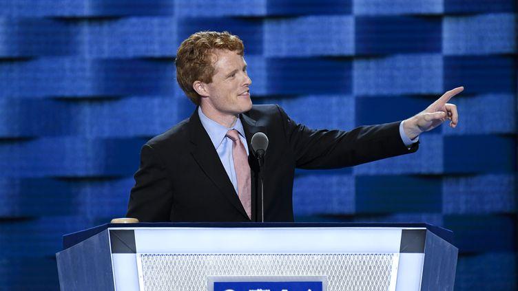 Joseph Kennedy lors de la Convention démocrate à Philadelphie (Pennsylvanie), le 25 juillet 2016. (BILL CLARK / CQ-ROLL CALL GROUP)