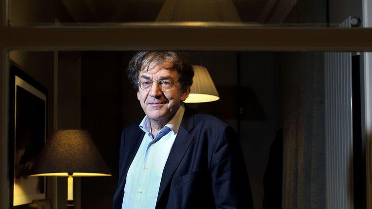 Le philosophe Alain Finkielkraut fin octobre 2015.  (Damien Grenon / Photo12)