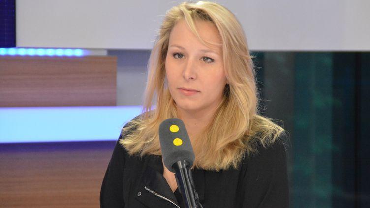 Marion Maréchal Le Pen, le 7 avril 2017. (FRANCEINFO)