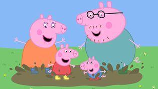 """La série britannique """"Peppa Pig"""", diffusée sur la chaîne Five et reprise dans de nombreux manuels scolaires outre-Manche. (MARK BACKER / NEVILLE ASTLEY / FIVE)"""