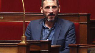 Le député LREM Matthieu Orphelin à l'Assemblée nationale le 27 juillet 2017. (JACQUES DEMARTHON / AFP)