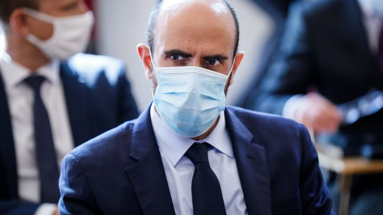 Nicolas Lerner, directeur général de la DGSI, le 31 août 2020. (THOMAS PADILLA / MAXPPP)