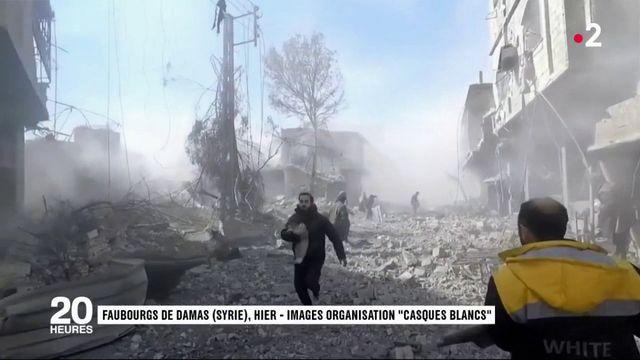 Syrie : le martyre des enfants de la Ghouta
