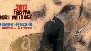 Affiche du festival 2012 du court métrage  (DR)