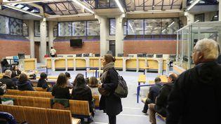 Le tribunal de Bobigny (Seine-saint-Denis), le 12 décembre 2017. (JACQUES DEMARTHON / AFP)