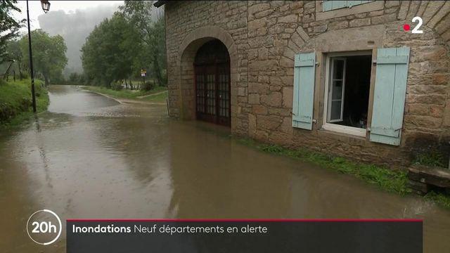 Inondations : le nord-est du pays sévèrement touché V2