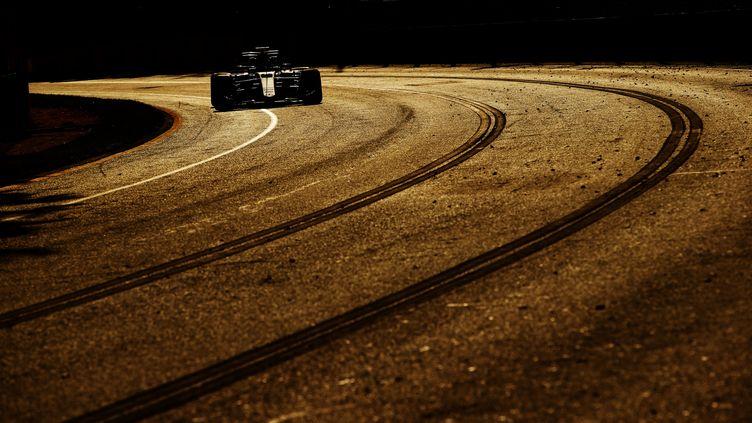 Lewis Hamilton (Mercedes) sur le circuit de Melbourne (HOCH ZWEI / HOCH ZWEI)