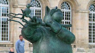 """""""Le chat déambule"""", exposition à ciel ouvert dans les rues de Caen (Calvados) (France 3 Normandie)"""
