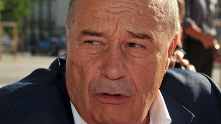 Le candidat aux primaires socialistes, Jean-Michel Baylet (PRG), à l'université d'été de La Rochelle, le 27 août 2011. (PIERRE ANDRIEU/AFP)