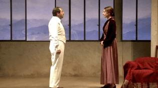 """Patrick Timsit et Elsa Zylberstein dans """"Les derniers jours de Stefan Zweig""""  (DR)"""