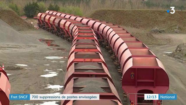 Fret SNCF : 700 suppressions de postes envisagés