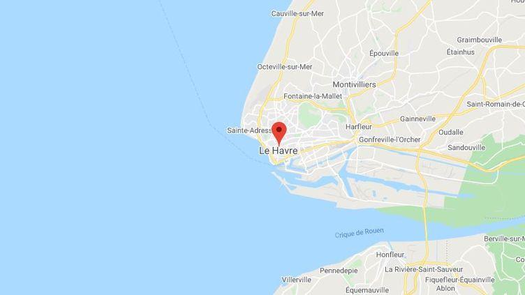 Le Havre (Seine-Maritime). (GOOGLE MAPS)