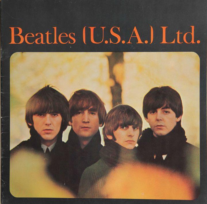 le programme de la tournée américaine de 1964  (Collection J. Volcouve)