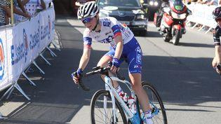 Evita Muzic, sacrée championne de France sur route 2021. (LAURENT LAIRYS / MAXPPP)
