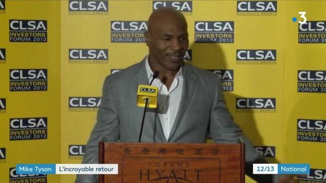 Boxe : le grand retour de Mike Tyson