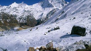 L'accident a eu lieu près de la chaîne de l'Annapurna. (DAVID WOODFALL / MAXPPP)