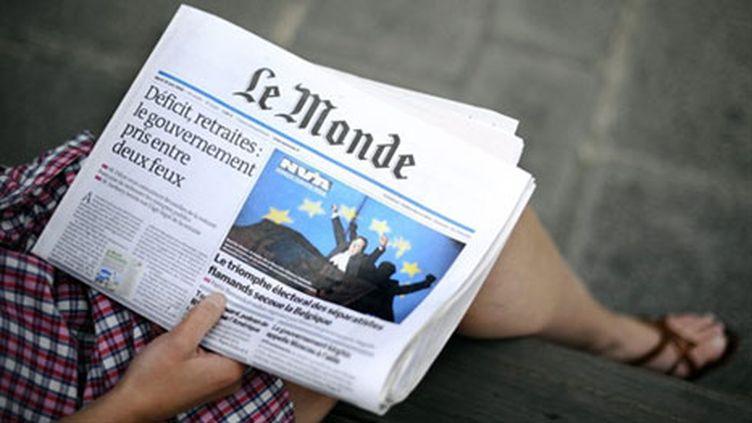 """Le journal """"Le Monde"""" (archives) (AFP - Johanna Leguerre)"""