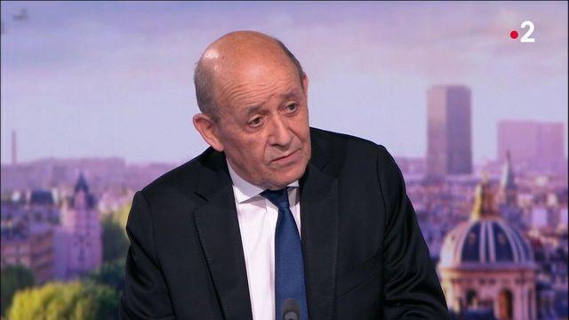 Crise des sous-marins : Jean-Yves Le Drian réagit aux annonces de l'Australie
