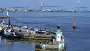 Le port de Nantes Saint-Nazaire, le 27 avril 2014. (  MAXPPP)