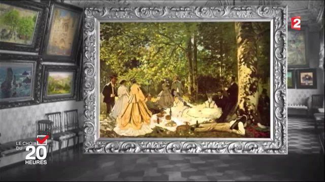 """Choix du 20 heures : le """"Déjeuner sur l'herbe"""" de Manet"""