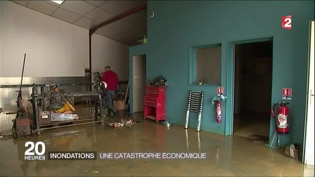 Inondations : une catastrophe économique