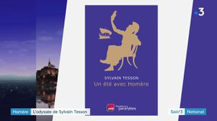 La couverture du livre de Sylvain Tesson (France 3)
