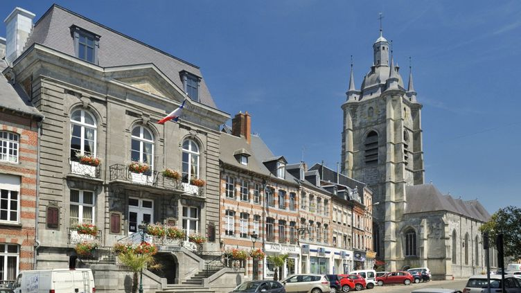 La Collégiale Saint-Nicolas d'Avesnes sur Helpe (Nord) en 2018. (SOBERKA RICHARD / HEMIS.FR / HEMIS.FR)