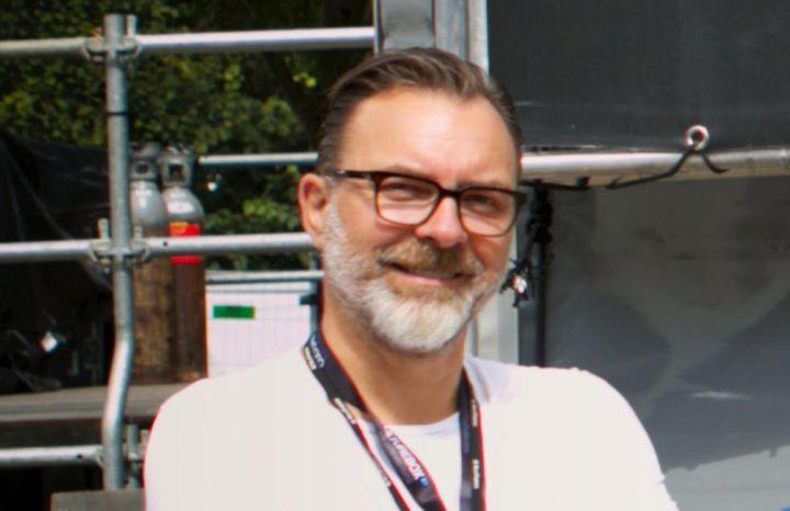 Thierry Langlois, l'un des cinq programmateurs du festival Rock en Seine 2019. (CHRISTOPHE CRENEL / ROCK EN SEINE)