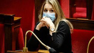 Alice Thourot,députée LREM de la Drôme, le 24 novembre 2020 à l'Assemblée nationale à Paris. (THOMAS PADILLA / MAXPPP)