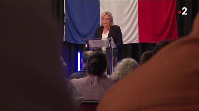 Rassemblement national : Marine Le Pen, l'ombre du doute au congrès de Perpignan