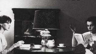 La Chinoise, film de Jean-Luc Godard avec Anne Wiazemsky et Jean-Pierre Léaud  (Kobal / The Picture Desk)