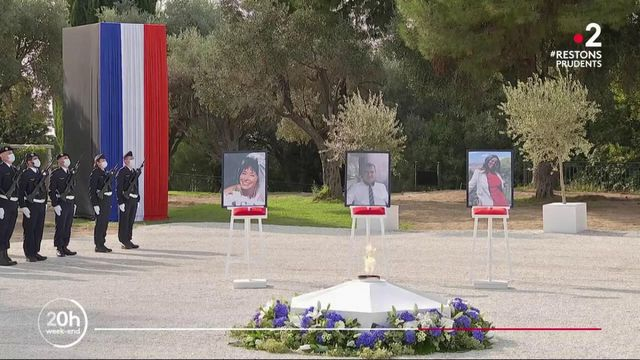 Attaque à Nice : un hommage national rendu aux trois victimes