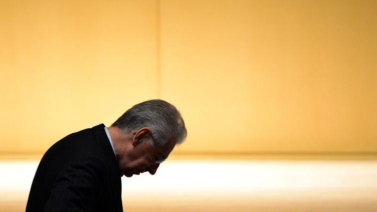 Le président du conseil italien, Mario Monti, le 15 novembre 2012 à Milan (Italie). (OLIVIER MORIN / AFP)